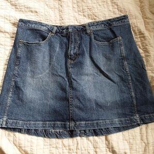 Pants - Denim skort
